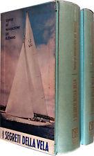 I SEGRETI DELLA VELA 2 voll. Corso di navigazione dei Glenans VITO BIANCO 1968