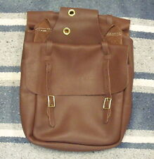 WEAVER LEATHER BROWN CHAP LEATHER SADDLE BAGS