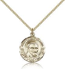 """Saint Vincent De Paul Medal For Women - Gold Filled Necklace On 18"""" Chain - 3..."""