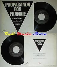 "LP 45 7"" propaganda for Frankie P 4 F... P machinery 1986 France CD MC dvd"