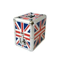 Flight case Valise de transport 80 Vinyles Bst Union jack