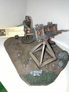 metal toy soldiers Viking Ballista.  Conte.