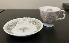 Royal Doulton 1985 Collectors Brambly Hedge Summer Tea Cup/Saucer/Plate, Perfect