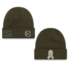 Nfl Woolly Hat Pittsburgh Steelers Salute Token Service Hat Sideline 2018 Newera