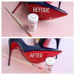 Loubby RED TouchUps by Clean Heels - Christian Louboutin Sole Restorer/Red Paint