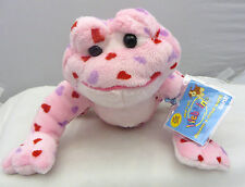 Ganz Webkinz Love Frog with hearts  HM144  with CODE