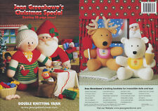 Christmas Special Knitting Book Jean Greenhowe Colourful Character Toy Patterns