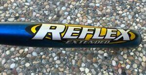 $250 Easton REFLEX Extended Singlewall ASA Slowpitch Softball Bat 34 28 Redline