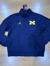 Nike Men's Jacket Jordan College Dri-FIT NCAA Michigan Wolverines L BNWT CD1733
