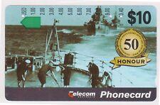 (K70-30) 1991 AU $10 honour used phone card (AE)