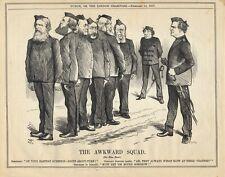 Vintage Punch Political Cartoon February 1877