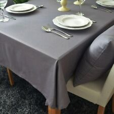 Dining Table Cover Mantel decorativo gris de estilo europeo algodón 100% algodón