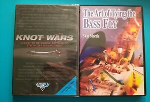 Knot Wars Strongest Fishing Knot & Art of Tying the Bass Fly Skip Morris DVDS