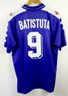 Fiorentina #9 BATISTUTA RETRO SOCCER VINTAGE FOOTBALL SHIRT JERSEY WORLD CUP Br9