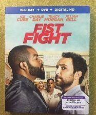 Fist Fight (Blu-ray+DVD+Digital HD, 2017; 2-Disc Set) NEW w/ Slipcover
