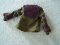"CORNELIUS / GALEN vintage 1974 PLANET of the APES 8"" MEGO action figure SHIRT"
