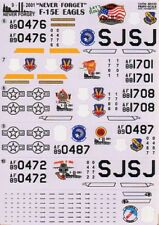 Print Scale Decals 1/48 McDonnell F-15E Strike Eagle Part 1 # 48030