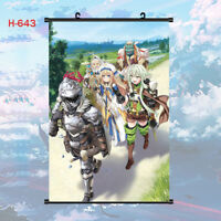 HOT Anime Goblin Slayer Character Wall Scroll Poster Home Decor Collection ART