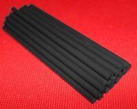 5x PVC Kunststoff Rundstab schwarz Ø 6mm x 150mm Kunststoff Stange Stab Stäbe