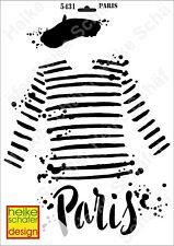 Schablone-Stencil A3 098-5431 Paris -Neu- Heike Schäfer Design