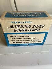 REALISTIC Automotive Stereo 8-Track Player