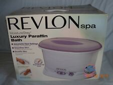 Revlon Moisture Stay Spa Manicure Pedicure Paraffin Wax Bath Rvs-1212, New