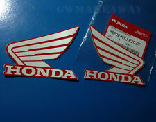 Honda Logo Sticker Mark Wing Decals Cbr 125 150 250 300 600 900 1000 Cb NSR R/W
