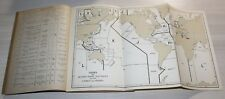 Phares & Signaux de brume OCEAN INDIEN & MER ROUGE - Hydrographie MARINE de 1942