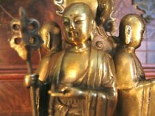 A Fine Brass Group figurines of Disciple of Buddha