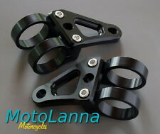 Billet CNC Headlight Brackets Blk 41mm Triumph XT600 FJ1200 CBR-600 VT-1100 Typ3
