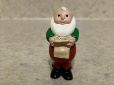 Hallmark 1989 Christmas Merry Miniature Mr. Santa with List