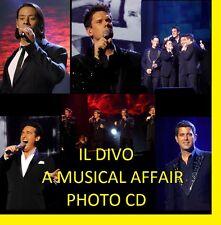 IL DIVO A MUSICAL AFFAIR  CONCERT 1300+ PHOTOS CD LIVE TOUR SET 1 + 2