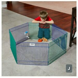 "Small Animal Pet Playpen/Exercise Pen, 20"" For hamsters, gerbils, guinea pig New"