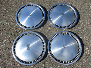 Genuine 1980 to 1984 Oldsmobile Delta 88 15 inch hubcaps wheel covers