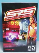 PC Racing SRS Street Racing Syndicate Original Small Box Version Complete