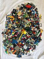 LEGO LOT 3lbs OF GENUINE LEGO PIECES INCLUDING FROM NINJAGO, ATLANTIS AND MORE