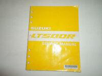 1991 Suzuki LT500R Service Shop Repair Workshop Manual Brand New 1991