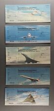 More details for british airways concorde natwest bank cheques - five different ba supersonic