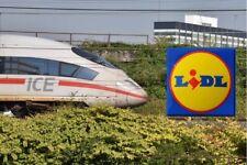 !Blitzversand! ORIGINAL 1/2 DB Lidl Ticket Bahnticket 1xFahrt flex bundesweit !!