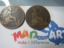 MADaboutART half  penny Victoria   1861 and 1862