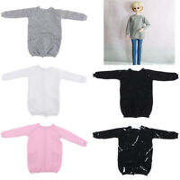 1/4 Dolls Long Sleeve Pullover Colored Clothes for 1/4 BJD Doll Toys Accs