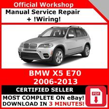 Servicio De Reparación Manual de Taller de Fábrica # BMW X5 E70 2006 - 2013 + Cableado