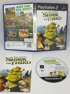 Shrek The Third Playstation 2 PS2 PAL Fast Free UK Delivery