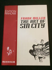 Frank Miller: Art Of Sin City French Edition Hardcover