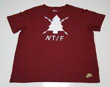 Nike Track & Field Run Nature Tee Large Running Racing Shirt Ntf Tree Xxl