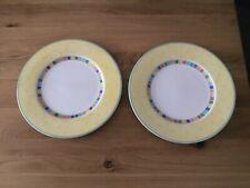 Villeroy & Boch Twist Alea Limone 2 Stück Speiseteller 27 cm