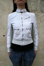 BNWT Silvian Heach paldi Jacket Cream SMALL S Glittered Ladies Multi pockets