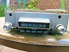 1959 1960 Chevy Radio original condition Chevrolet Part# 7273074 Impala Biscayne