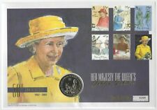 More details for 2002 50th anniversary large mercury coin first day cover   pennies2pounds