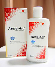 ACNE AID SOAP LIQUID CLEANSER CLEANSING PIMPLE OILY SKIN FACE AID